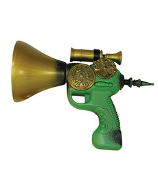 Green Steampunk Gun