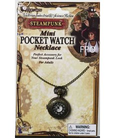 Mini Steampunk Pocketwatch Necklace