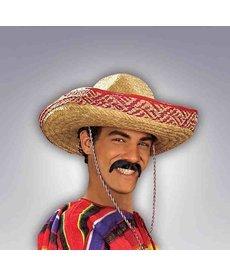 Black Poncho Moustache