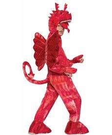 Child's Red Dragon Costume
