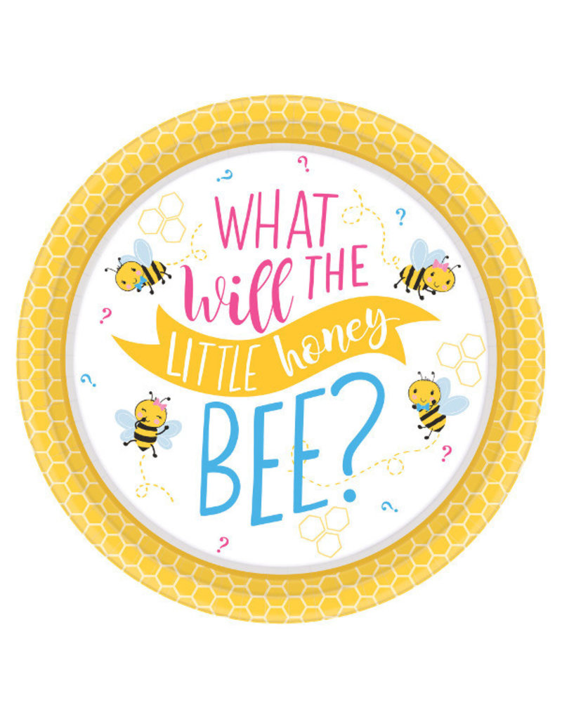 "7"" Plate - What Will It Bee?"