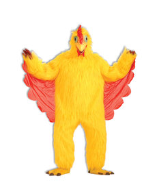 Adult Plush Chicken Mascot Costume