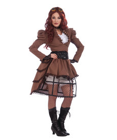 Adult Steampunk Vicky Costume
