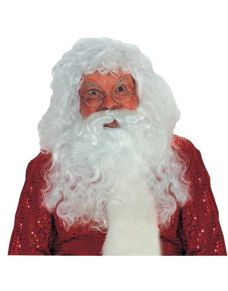 Professional Santa Claus/'s  Set Wig Beard and eyebrows