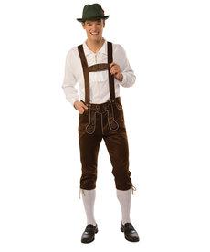Adult Lederhosen Costume for Men