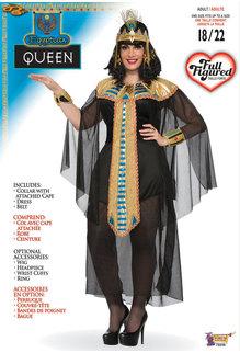Women's Plus Size Cleopatra Queen Costume