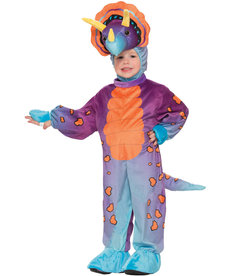 Child's Spunky Triceratops Costume (4-6)