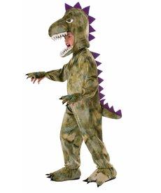 Child's Plush Dinosaur Costume