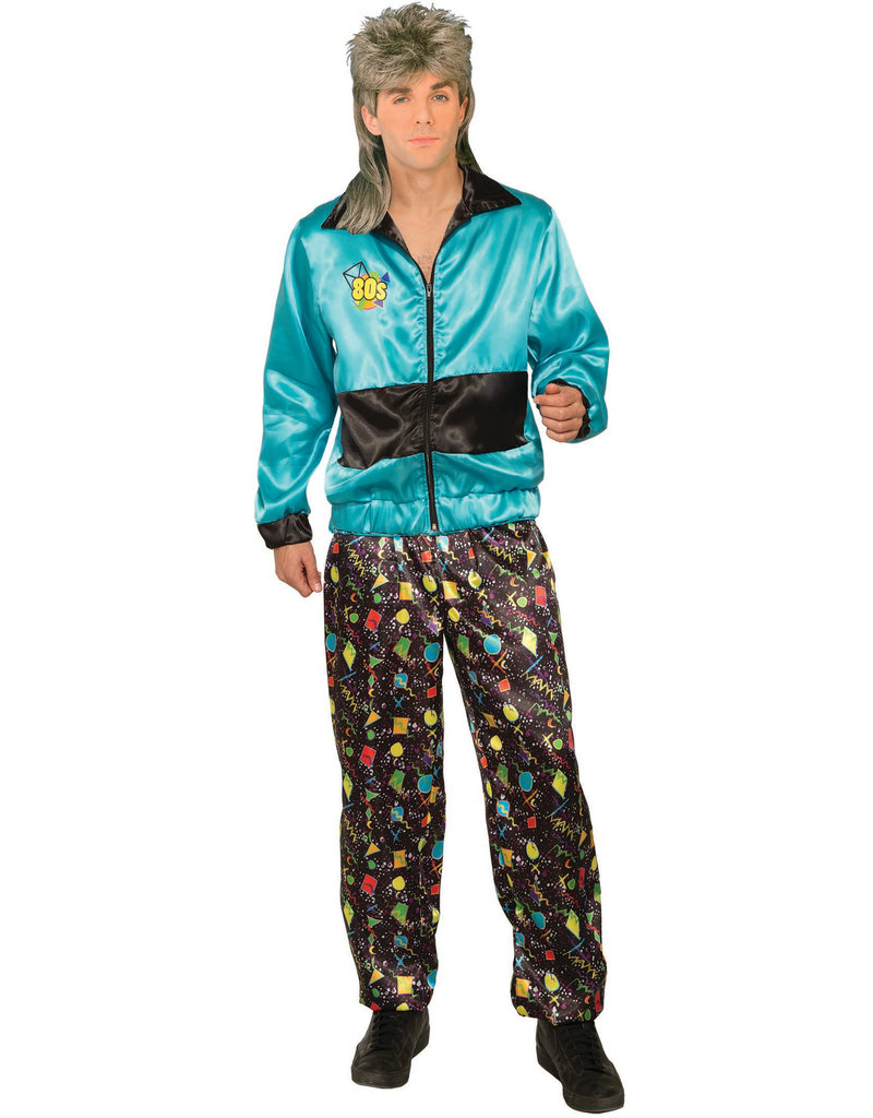 80's Track Suit Male - Standard Adult Size
