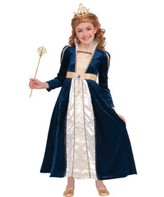 Kids' Royal Navy Princess Costume