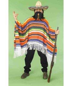 Adult Mexican Serape: Standard