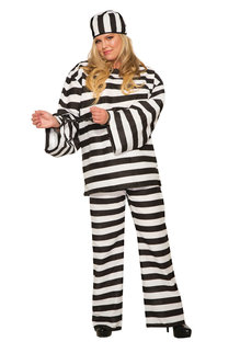 Rubies Costumes Adult Plus Size Convict Costume