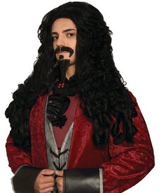 Adult Black Pirate Wig