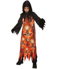 Kids' Fire Reaper Costume