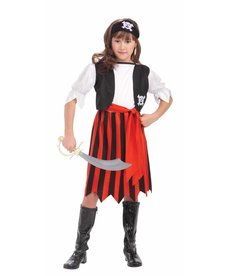 Kids' Pirate Lass Costume