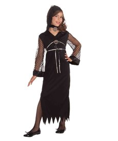 Girls Darling of Darkness Costume