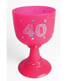 40th Chalice - Pink
