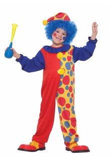 Kids' Clown Boy Costume