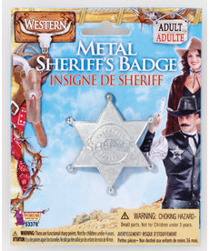 Wild Western Sheriff's Badge