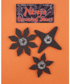 Ninja Throwing Stars (3pk.)