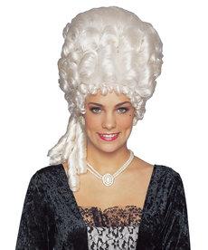 Deluxe Platinum Marie Antoinette Wig