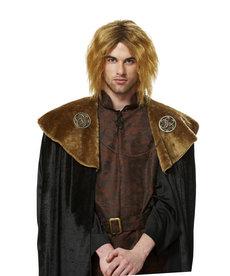 Blonde Medieval King Wig