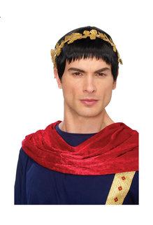 Black Caesar Roman Wig