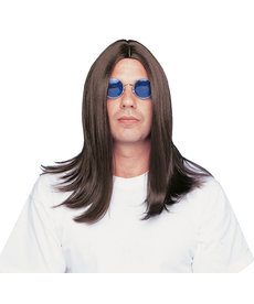"""Deluxe 18"""" Parted Wig"""