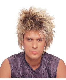 Short Unisex Rocker Wig