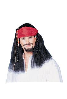 Buccaneer Wig w/ Bandana