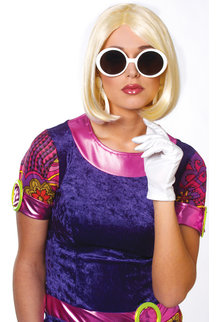 1960's Cute Wig: Blonde