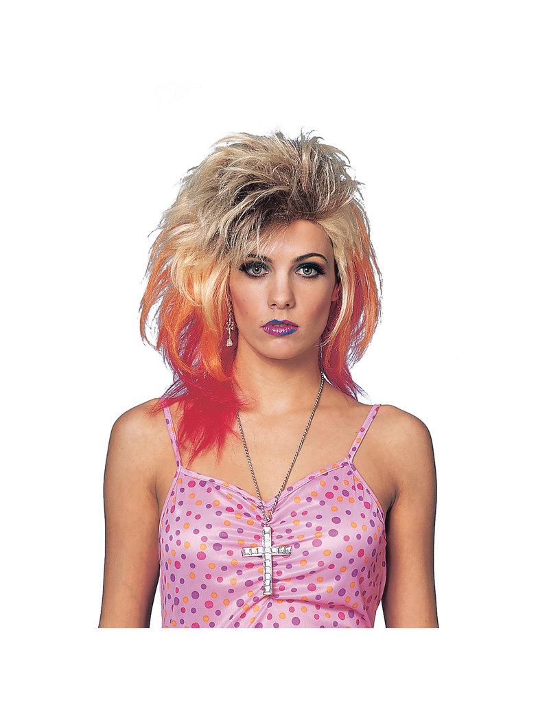 1980's Glam Wig - Multicolor