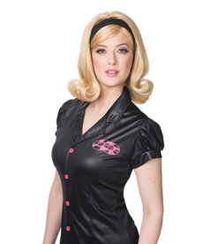 Women's 60's Flip Wig with Headband