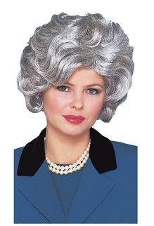Classy Lady Wig: Silver