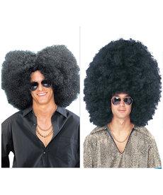 Super Size Jumbo Afro Wig - Black