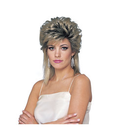 80's Sprayed Wig