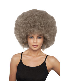 Deluxe Mixed Blonde Disco Afro Wig