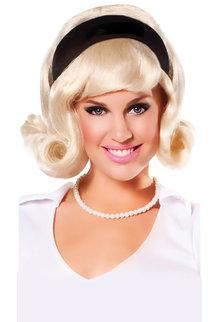 1950's Wig with Headband