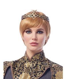Dark Blonde Medieval Queen Wig