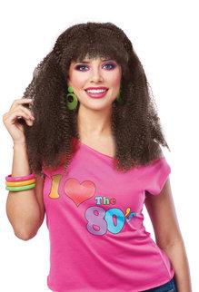 1980's Crimped Wig