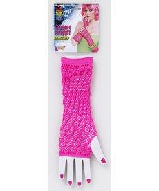 Double Fishnet Gloves