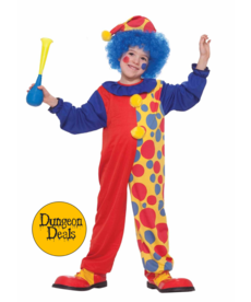 Kids' Clown Boy Costume