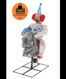 Rocking Elephant Clown