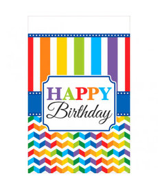 Bright Happy Birthday Tablecover