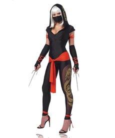 Women's Ninja Warrior Costume