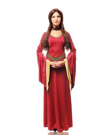 Women's Red Witch Costume
