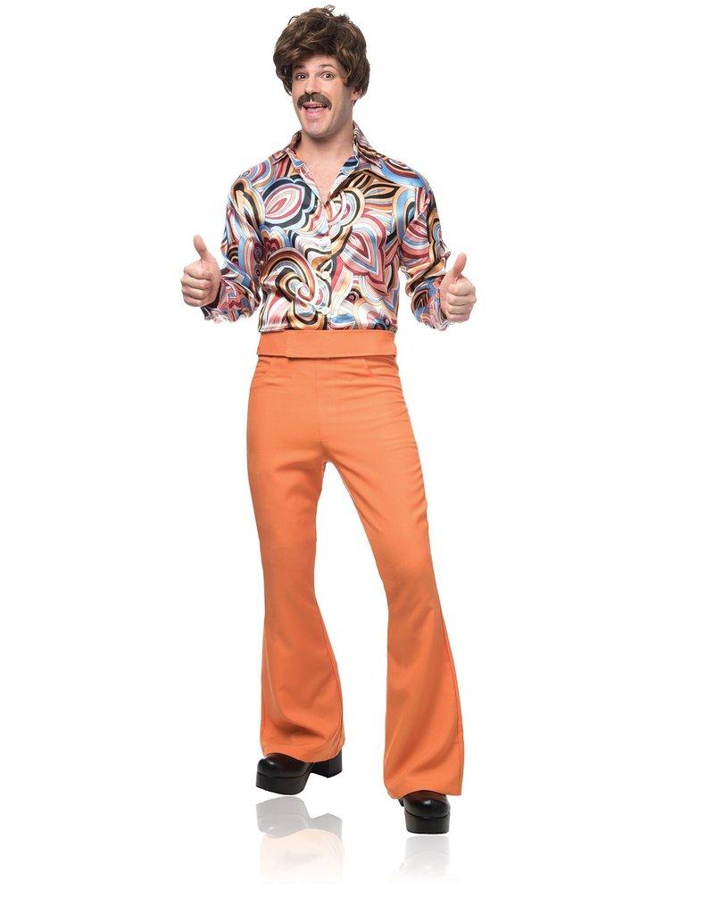 Men's 70's Dude Costume (Rust)