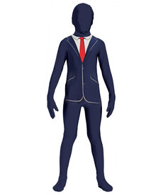 Teen Disappearing Teenz: Business Suit Bodysuit