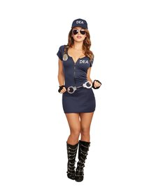 Dream Girl Adult Women's DEA Agent Costume