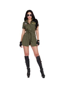 Dream Girl Women's Fighter Pilot Costume